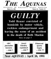 The Aquinas 1991-03-21