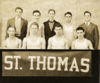 St. Thomas College intramural basketball league winners, 1933-1934