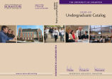 University of Scranton Undergraduate Catalog, 2008-09