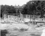 Construction of Campion Hall