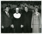 Inauguration of Rev. Aloysius C. Galvin, S.J., 1965