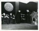 Inauguration of Rev. J. Eugene Gallery, S.J., 1948