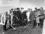 Redington Hall groundbreaking ceremony, April 1984