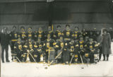 Ice hockey team, undated