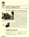 Insider's Campaign Report for the Gateway to the Future Campaign, Fall 1992