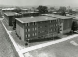 Lower Quad residence halls, 1960s
