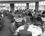 Gunster Memorial Student Center dining room, 1960s