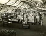 St. Thomas College booth at the Scranton Times Progress Exposition, 1933