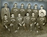 Cross country team, 1951