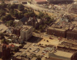 Aerial photograph of Jefferson and Linden
