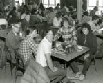 Gunster Memorial Student Center cafeteria, late 1970s