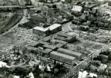 Aerial view of campus, 1966