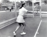 Tennis player, undated