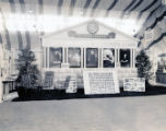 St. Thomas College booth at the Scranton Home Show, 1936