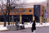 Winter on campus, 1998