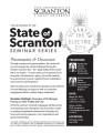 State of Scranton Seminar Series, 2015