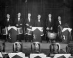 Percussion section, 1949