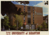 University of Scranton postcard