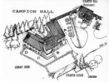 Sketch of Campion Hall