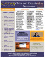 Clubs and Organization Newsletter October 2013